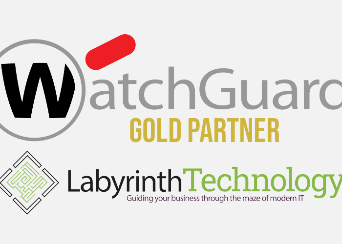 We Are Now A WatchGuard Gold Partner!